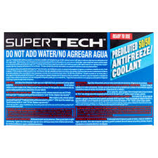 super tech 50 50 antifreeze coolant pre mix walmart com