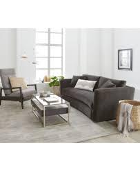 velvet sofa set cortlyn velvet sofa furniture macy u0027s