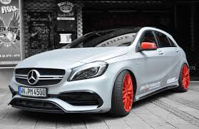 mercedes a45 mercedes amg a45 even hotter in matte silver with 410 hp w