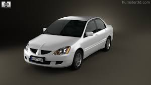 mitsubishi sedan 2004 360 view of mitsubishi lancer ralliart sedan 2004 3d model hum3d