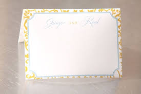 made wedding place cards blank personalized formal pattern