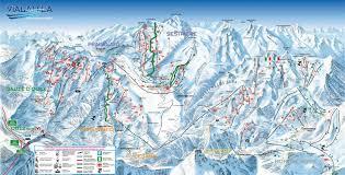 Ski Resorts Colorado Map by Sestriere Ski Map Free Download