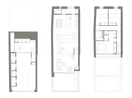 terraced house floor plans terraced house in casavells by 05 am arquitectura caandesign