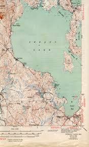 Map Of New York Beaches by Sebago Lake Me Quadrangle