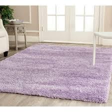 Lavender Throw Rugs Safavieh California Shag Lilac 8 Ft X 10 Ft Area Rug Sg151 7272