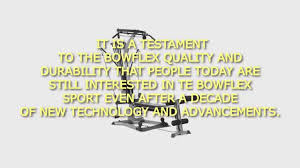 Chair Gym Review Bowflex Sport Home Gym Review Bowflex Sport Home Gym Youtube
