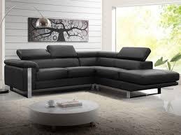 vente flash canapé canapé d angle en cuir de vachette 4 coloris mystique
