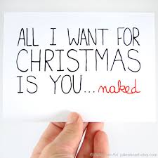 Sexy Christmas Meme - sexy christmas card funny christmas card all i want for