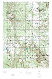 Topographical Map Of New Mexico by Mytopo Agua Fria Peak New Mexico Usgs Quad Topo Map