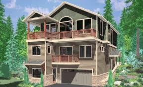 hillside home plans house plans for hillside luxury view house plans sloping lot house
