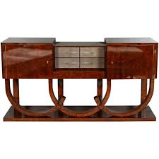meubles art deco style art deco style console or sideboard in burl walnut and shagreen
