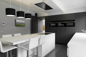 cuisine blanche grise fabrication et réalisation de cuisines sur mesure reul frères