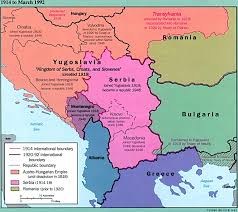 Serbia World Map by Map With Yugoslavia Serbia And Albania As Well As Parts Of