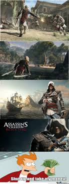 Assassins Creed 4 Memes - assassin s creed iv black flag 31 octobre 2013 by johncale meme center
