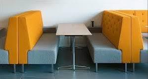 Modern Restaurant Furniture by Modern Fast Food Restaurant Furniture Booth Seating Buy Fast