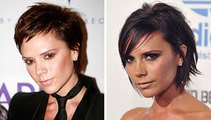 transition hairstyles for growing out short hair 3 celebs who make growing out short hair look easy