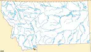 United States Map Missouri by Hell Roaring Creek Jefferson River Source Of The Missouri River