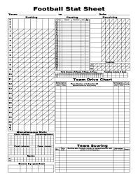 football stat sheet free download