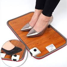 tapis chauffant bureau pied interrupteur étanche tapis de chauffage électrique coussin