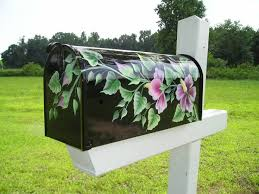 best 25 painted mailboxes ideas on custom mailboxes