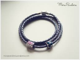 bracelet leather pandora images Review pandora leather bracelets mora pandora png