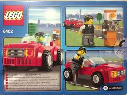 lego sports car brave new lego world day clxxxiii 8401 city mini figure