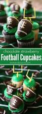 these football cupcakes are the perfect game day dessert for