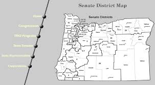 map of oregon house or education links