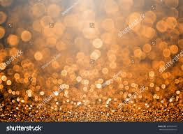 abstract thanksgiving glitter sparkle orange stock photo