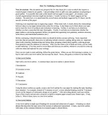 research project template example high research paper