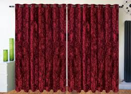 Burgundy Velvet Curtains Dramatic Images Risk Taking Curtains And Panels Horrible Good