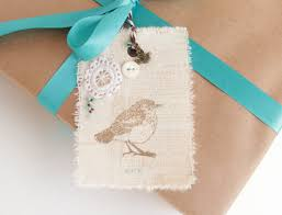 Shabby Chic Wedding Gifts by Fabric Tags Gift Tags Wedding Gift Tags Personalized Gift Tags