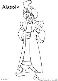 aladdin coloring pages coloring book