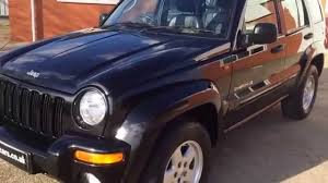 black jeep liberty 2003 2003 53 jeep cherokee limited 2 8 diesel auto for sale youtube