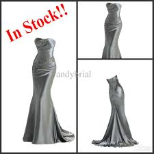 elastic satin mermaid bridesmaid dresses 2015 top glamorous