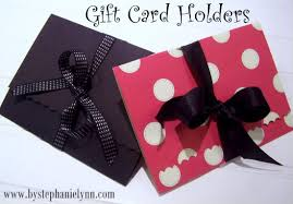 make gift cards easy to make gift card holders a scotch sided