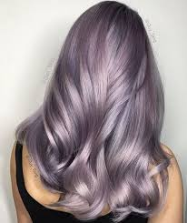 hair colours smoky lilac is the glam grunge hair color you should try grunge
