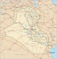 Transport Map Iraq Transport Map Iraq Transportation Map Iraq Railway Map