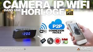 t harger horloge de bureau éra horloge de bureau 720p wifi avec vision nocturne secutec fr