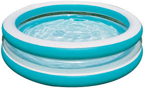 Backyard Blow Up Pools by Amazon Com Intex Swim Center See Through Inflatable Pool 80