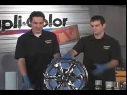 dupli color shadow chrome black out coating video youtube