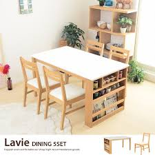 kagu350 rakuten global market table kagu350 rakuten global market lavie table 4 chairs wood simple