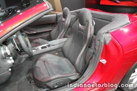 jeep interior seats 2018 ferrari portofino interior seats indian autos blog
