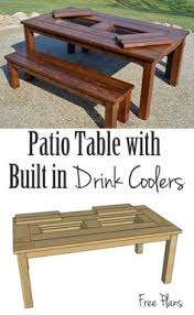 Wood Plans Outdoor Table by Round Picnic Table Plans Woodworking Pinterest Round Picnic