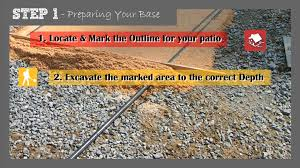 Gravel For Patio Base Michigan Brick Pavers How To Guide Step 1 Preparing Your Base