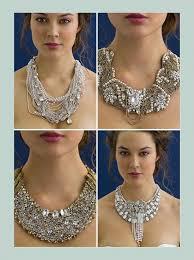 bridesmaid statement necklaces 116 best bridal statement necklace images on statement