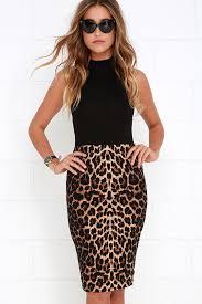 striped pencil skirt dress ala leopard pencil skirt dress ala