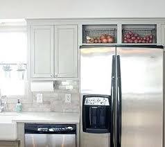top of fridge storage top of fridge storage ideas remodeled kitchen using original