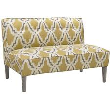 Armless Settee Dining Armless Settee Design Set For Attractive Interior Dalcoworld Com