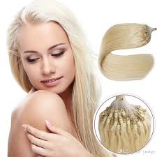 cheap extensions hot selling micro braid hair extensions cheap blond remy
